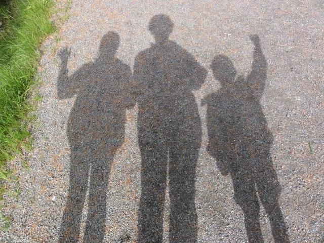 Tre på tur